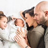Jana Kramer and Mike Caussin Share Baby Jace's Newborn Photos