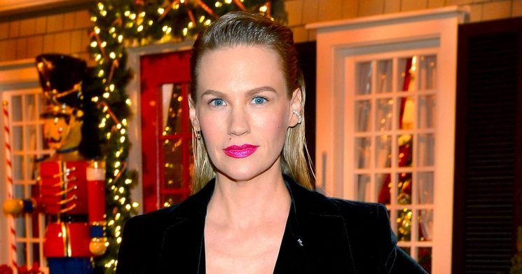 January Jones' Son Xander Just Gave Her the Best Compliment