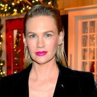 January Jones on Dog Baby Teeth Necklace and Style Tips