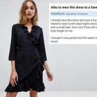 Is this dress 'too much' for a funeral? Woman's husband unhappy with her frilly ASOS frock