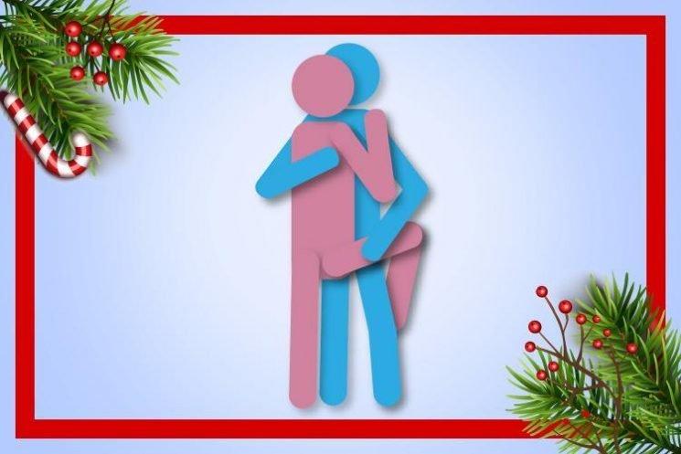 The Mistletoe sex position kicks off day one of our frisky festive countdown