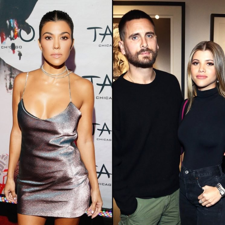 Kourtney Kardashian Is in a 'Much Better Space' With Scott, Sofia