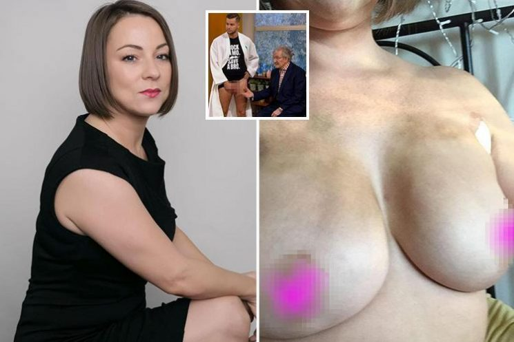 Why is Chris Hughes' This Morning testicular exam OK to be shared on Facebook but breast cancer awareness posts not?