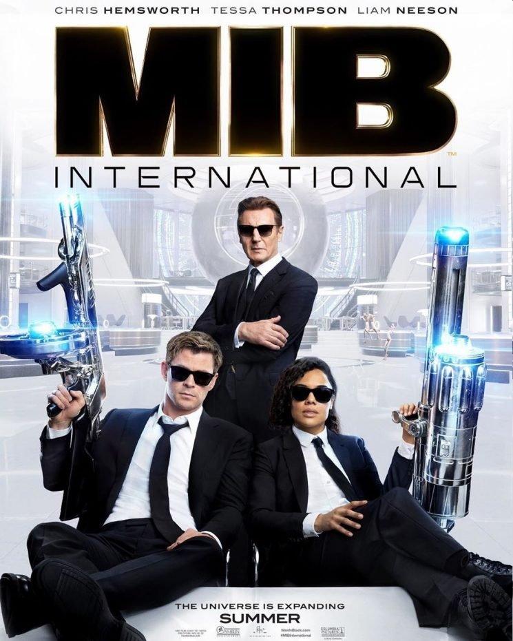 """The 'Men In Black: International' trailer looks… okay"" links"