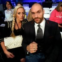 Tyson Fury's wife reveals she suffered miscarriage on day of fight but hid it from him