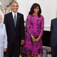 Michelle Obama reveals the Queen put her at ease by saying royal protocol was 'rubbish'