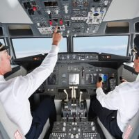 Pilots are by law banned from chatting when plane is below 10,000ft
