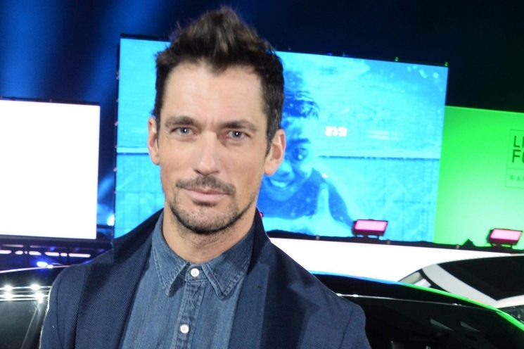 David Gandy becomes a dad for the first time as barrister girlfriend Stephanie Mendoros gives birth to baby Matilda