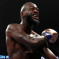 Deontay Wilder broke his arm and had surgery in build up to Tyson Fury fight
