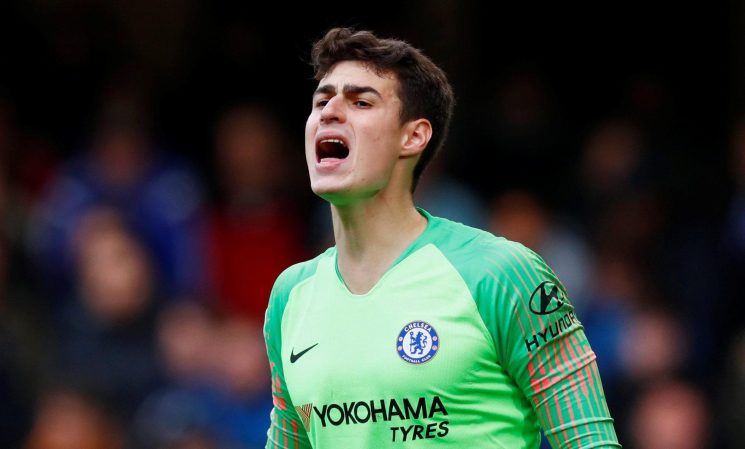 Chelsea ace Kepa makes huge mistake for Wolves equaliser as fans claim he is conceding 'Thibaut Courtois goals'