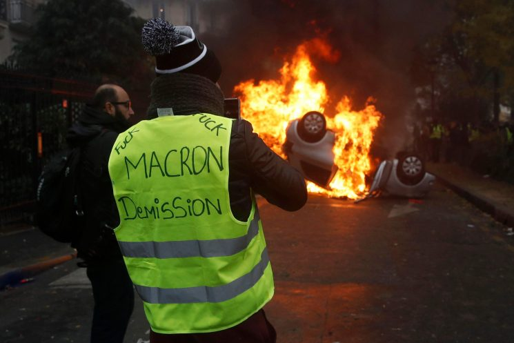 Who are the leaders of the Yellow Vests? From Benjamin Cauchy to Thierry Paul Valette