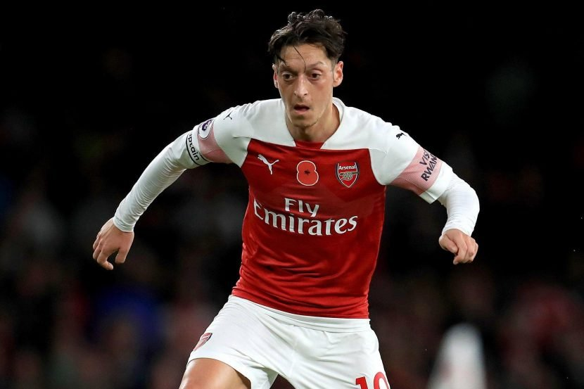 Mesut Ozil injury update with Arsenal ace set to miss Huddersfield clash with back problem