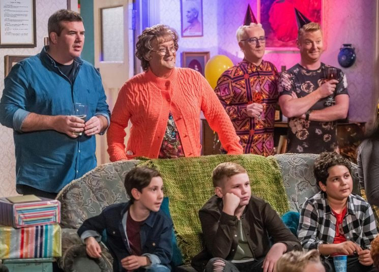 When is Mrs Brown's Boys New Year 2019 special on and who is appearing with Brendan O'Carroll