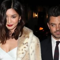 Dominic Cooper and Gemma Chan make first public appearance as a couple as they leave Fashion Awards afterparty together