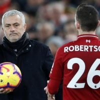 Manchester United boss Jose Mourinho admits he is 'still tired' from '200mph' Liverpool and 'incredible' Andy Robertson's display
