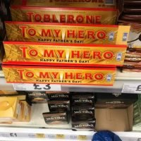 Tesco shoppers baffled after spotting Father's Day Toblerone bar on sale just days before Christmas