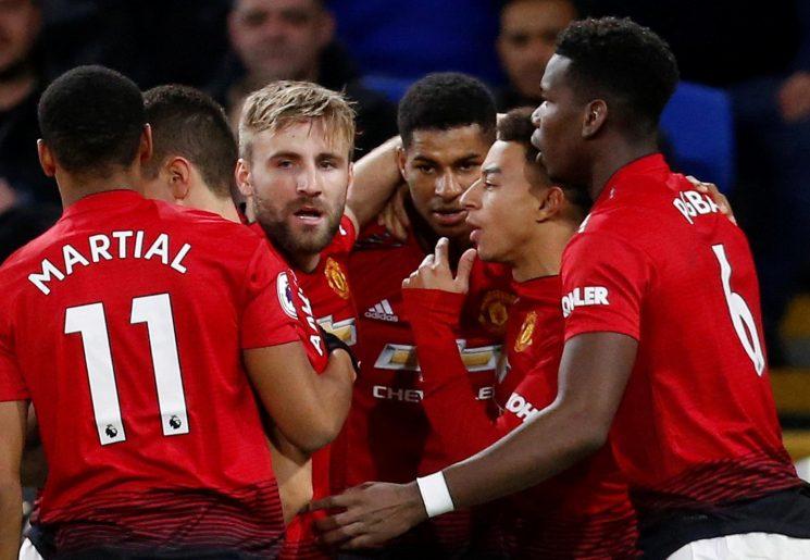 Man Utd score five for first time since Sir Alex Ferguson's final game