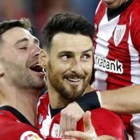 Watch Athletic Bilbao star Aritz Aduriz score incredible one-step penalty in La Liga