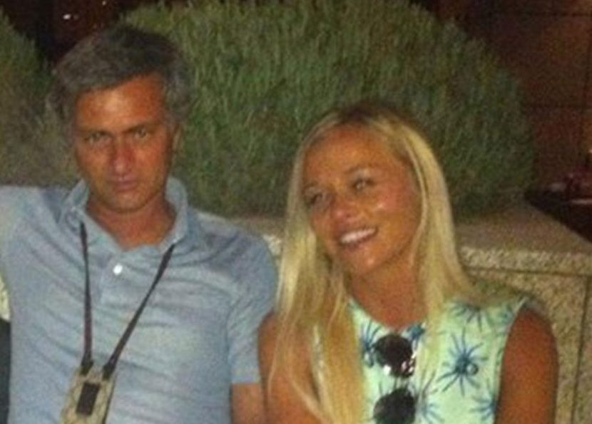 Who is Prue Carter-Robinson? Jose Mourinho's secret blonde friend photographed on holiday with ex-Man Utd boss