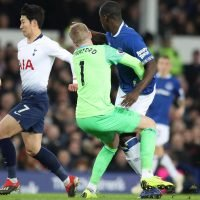 Jordan Pickford left red faced as horror gaffe gifts Tottenham goal vs Everton