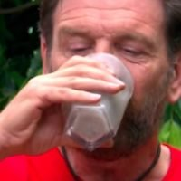 I'm A Celebrity's Nick Knowles chugs a pint of blended pig eyes