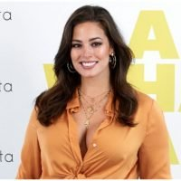 Ashley Graham Flaunts Her Figure In Fun, Funky Bikini Snap On Instagram
