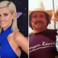 Strictly's Ashley Roberts cuddles up to her dad as finalists' adorable childhood snaps are revealed