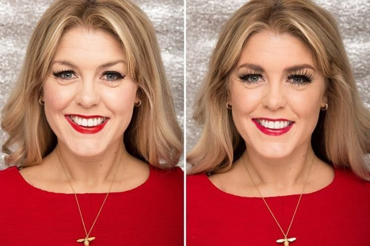 Can you tell a £10 face of party make-up from a £1,000 one?