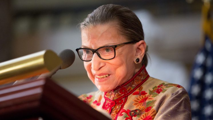 Ruth Bader Ginsburg Had Cancer Surgery & Is Currently 'Resting Comfortably' Like the Queen She Is