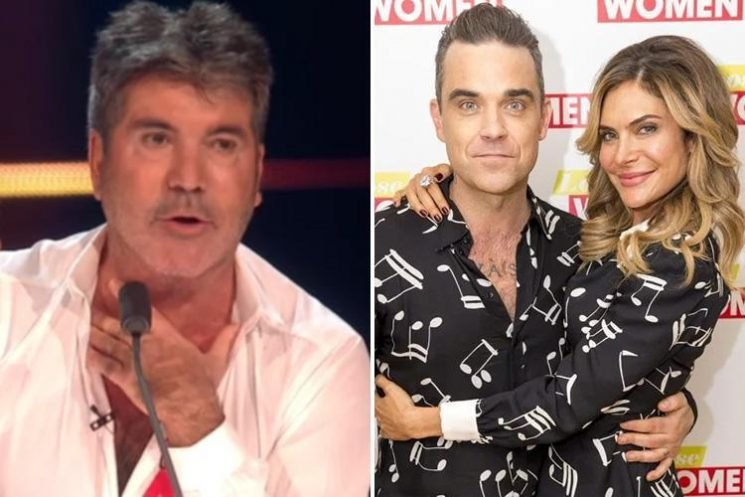 Simon Cowell admits X Factor has left him knackered but says Robbie Williams and Ayda Field WILL return next year as judges