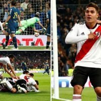 River Plate 3 Boca Juniors 1 (Agg 5-3): Quintero produces moment of magic to seal extra-time Copa Libertadores win