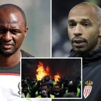 Thierry Henry's Monaco clash against Patrick Vieira's Nice called off after deadly France riots