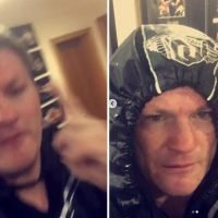 Ricky Hatton works up a sweat as he runs to tune of 'you fat b******'