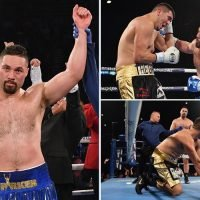 Joseph Parker knocks out Alexander Flores in first win since Dillian Whyte defeat