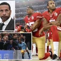 Raheem Sterling's 'race abuse' deserves NFL-style protest, suggests Rio Ferdinand