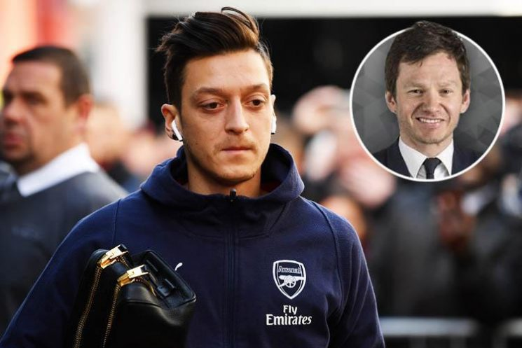 Why Arsenal must get rid of 'moody' Mesut Ozil after missing North London derby