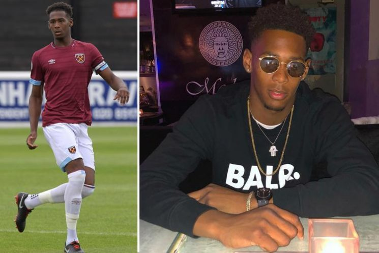 West Ham star Reece Oxford has treasured watch stolen from training ground