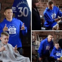 Blue Christmas: Everton kid gets early gift from Richarlison.. and a matching haircut