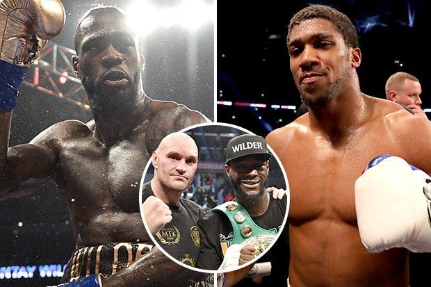 Deontay Wilder blasts Anthony Joshua for fighting 'second-tier' opponents and hopes Brit rival is KO'd ahead of Tyson Fury rematch talks