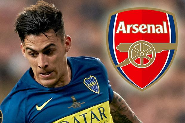 Arsenal lining up £40million move for Boca Juniors ace Cristian Pavon in January