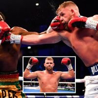 Billy Joe Saunders defeats Charles Adamu after four rounds on his return to the ring