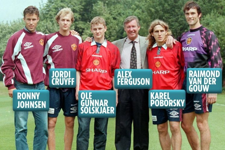 Man Utd signed Solskjaer in 1996 with four other players – but where are they now?