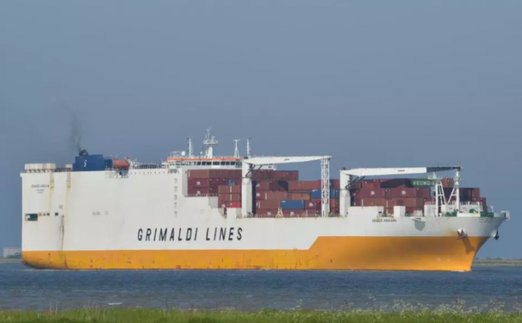 Four men to appear in court charged with affray after 'storming cargo ship in Thames'