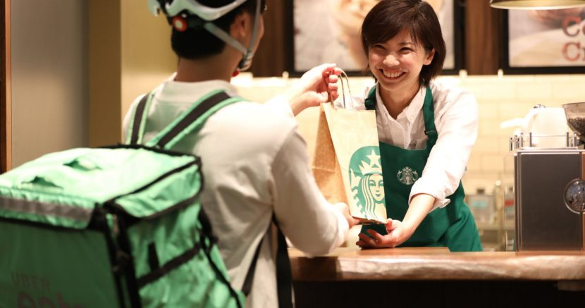 Starbucks Reveals Partnership With Uber Eats In U.S.A