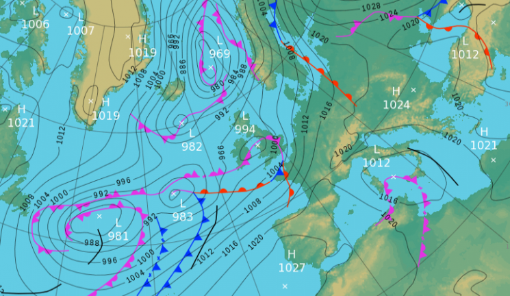 Saturday's UK weather forecast — Brits set for unsettled day turning wet across central and southern parts