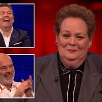 I'm A Celebrity's Anne Hegerty leaves The Chase viewers in hysterics as she jokes about fans shouting 'Fat Les' at her
