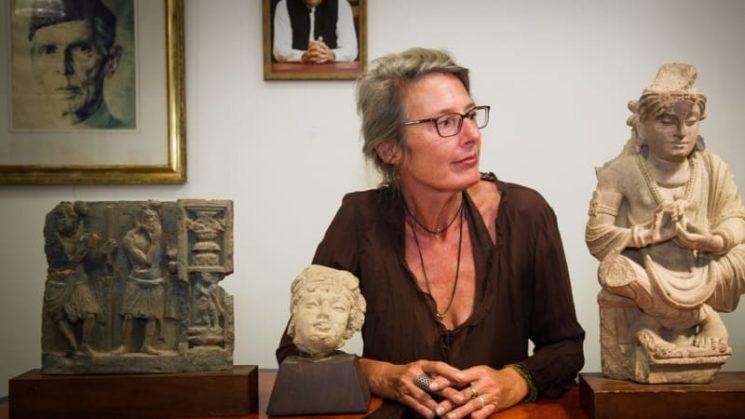 Ancient Buddha returned to Pakistan by Australian family