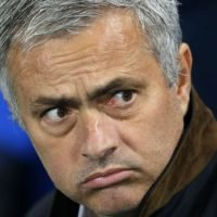 Sacked: Manchester United show Jose Mourinho the door