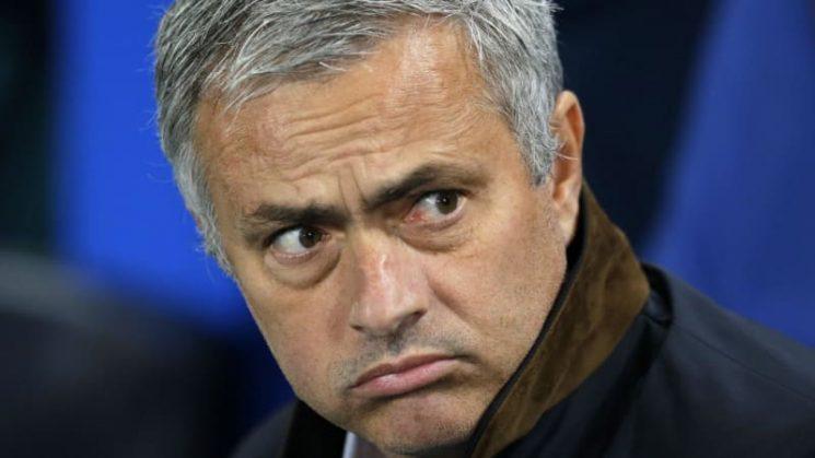 Sacked: Manchester United show Jose Mourinho the door