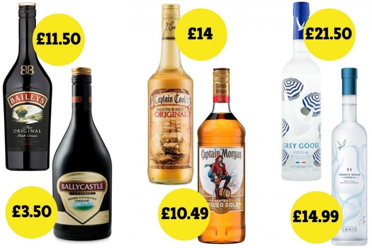 The Christmas tipples that cost MUCH less than big brand names – from fake Baileys to spiced rum